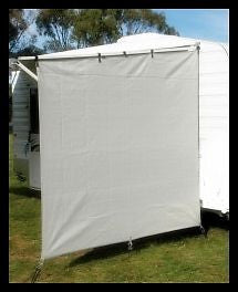 Supex Caravan Awning End Wall Privacy Sunshade Screen 1.9 x 2.3