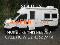 SOLD - 2010 Iveco Daily Motorhome