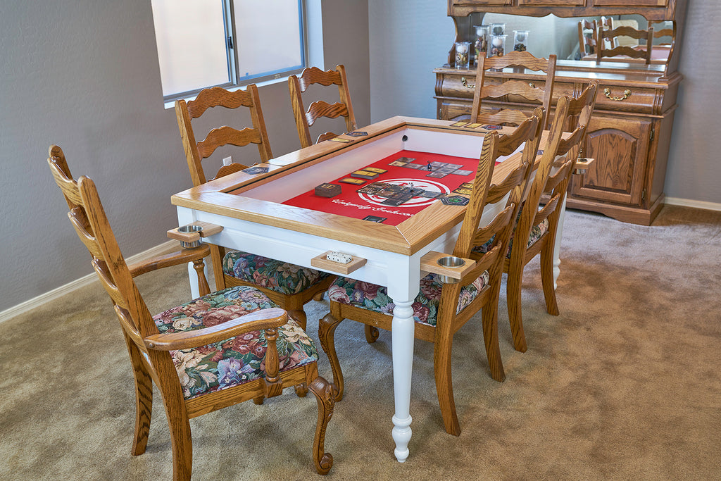 The Earl: Farmhouse gaming table