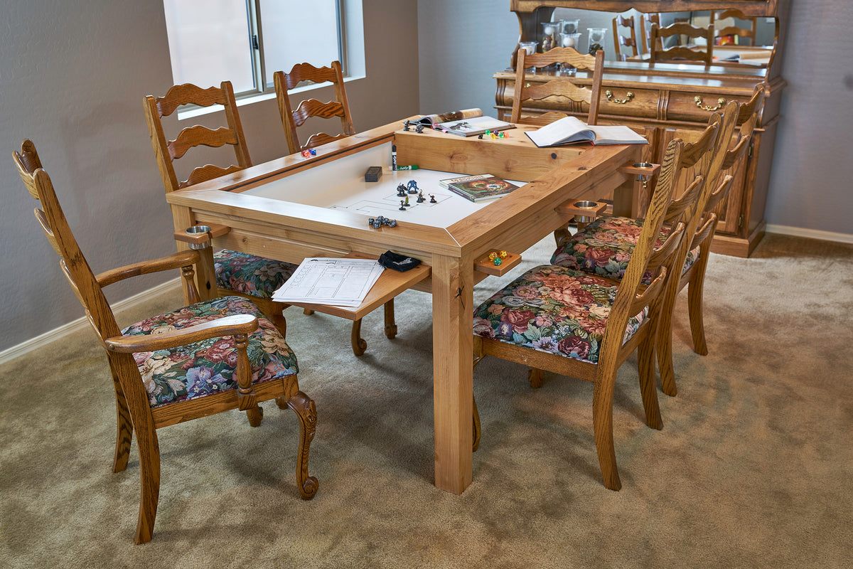Gaming table designed by uniquely-geek