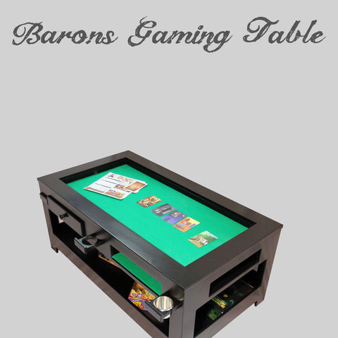 The Barons Gaming Table