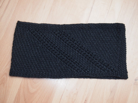 Hit and Run cowl pattern