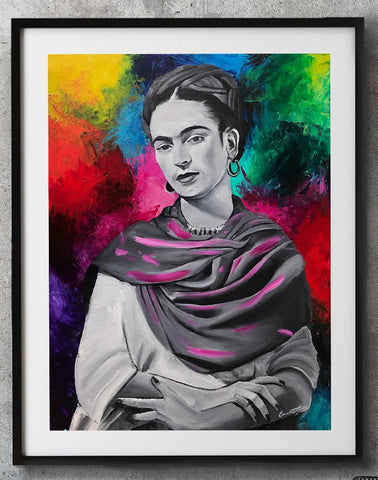 Frida Kahlo Limited Edition Print - Giovannie's Originals