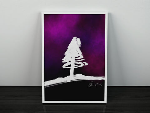 """Lonely Tree"" Print"