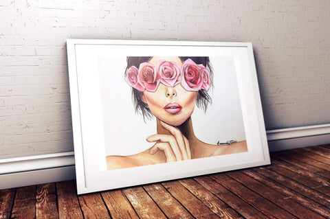 """Hidden Beauty"" Print - Giovannie's Originals"