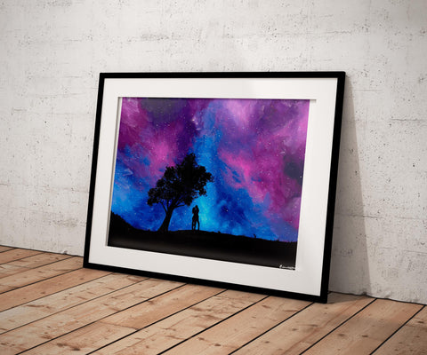 """Under The Stars"" Print - Giovannie's Originals"