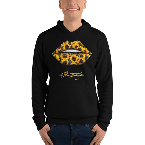 Sunflower Lips Hoodie - Giovannie's Originals