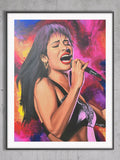 Selena Limited Edition Print - Giovannie's Originals