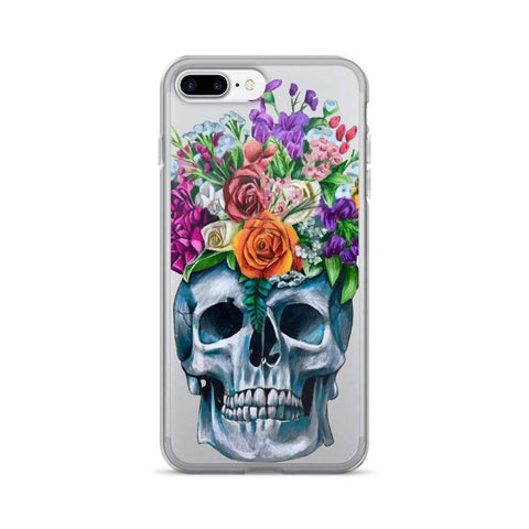 Skull and Flowers iPhone cases,  - Giovannie's Originals
