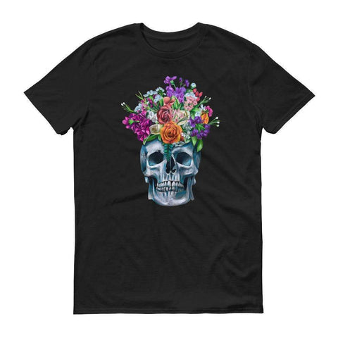Skull and Flowers T-Shirt (Unisex),  - Giovannie's Originals