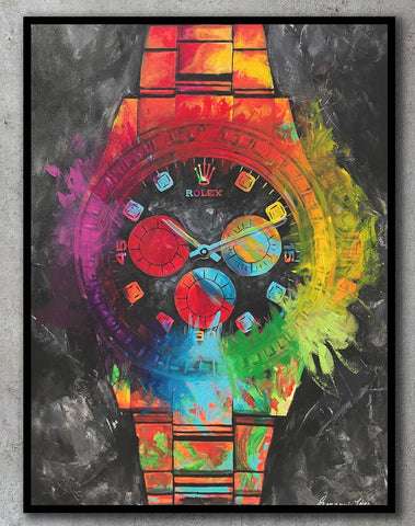 Time Is Money Limited Edition Print - Giovannie's Originals