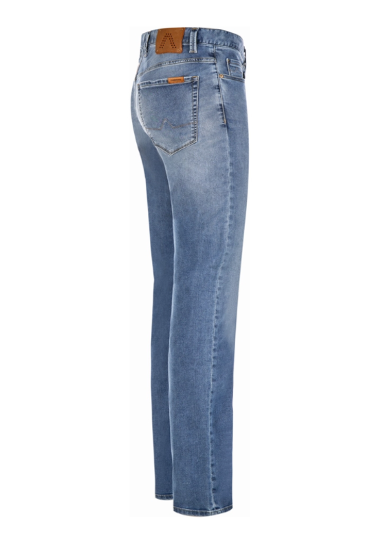 Alberto Superfit Tencel Denim - Pipe Indigo