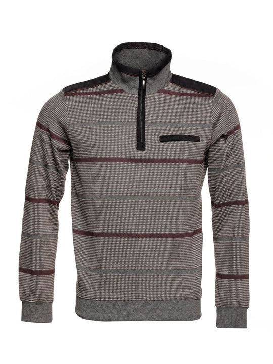 Montechiaro - Long Sleeve 1/4 Zip Knit