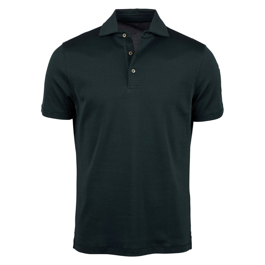 Stenströms Golf Shirt - Dark Green