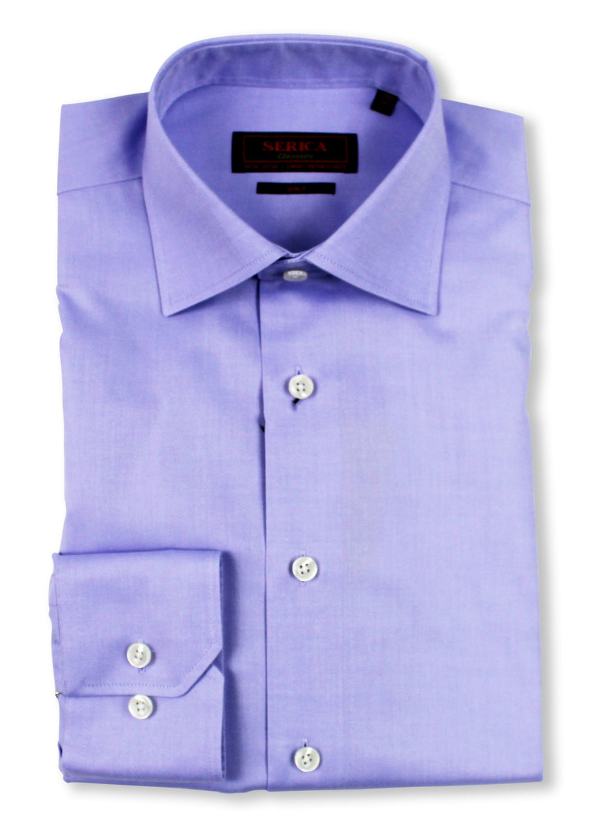 Serica Classics Non Iron Dress Shirt - Solid