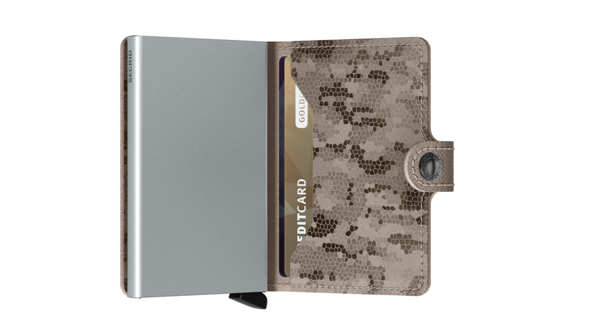 Secrid Mini Wallet Crisple Taupe/Camo