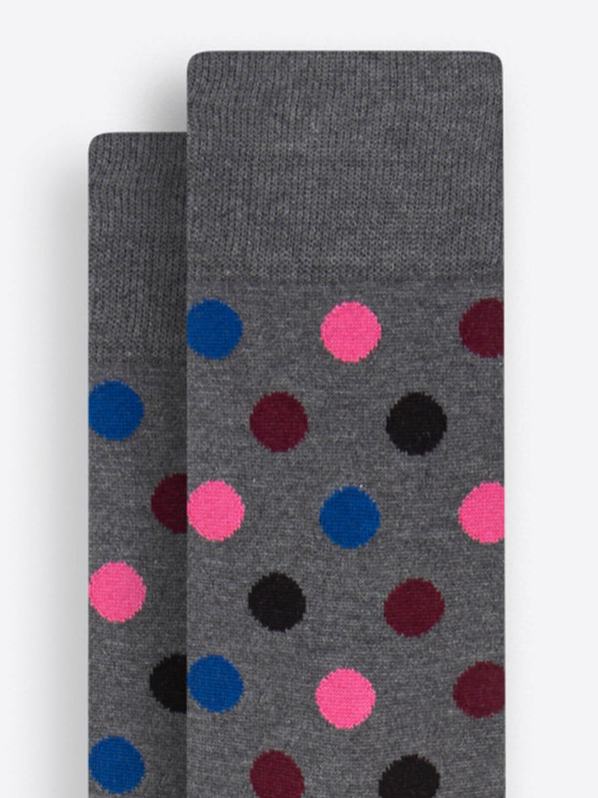 Bugatchi No-Show Socks - Flamingo