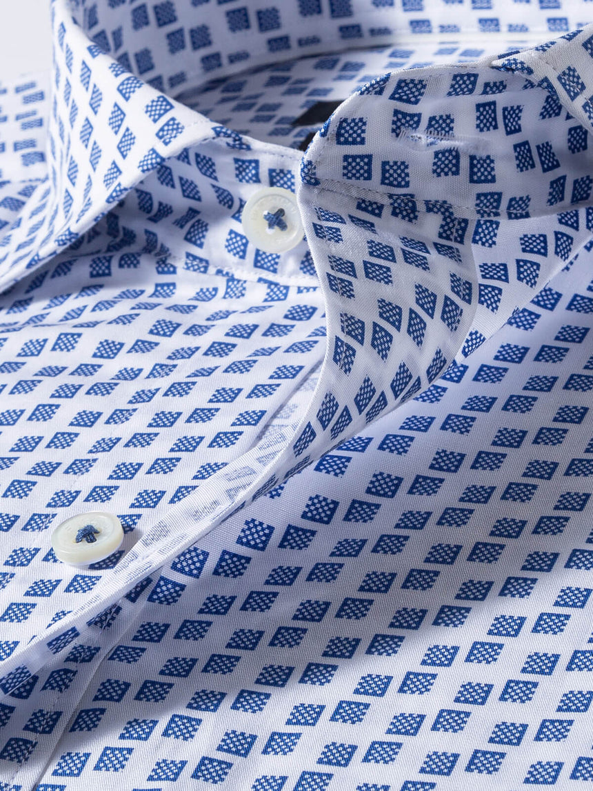 Bugatchi Long Sleeve Sport Shirt - Print