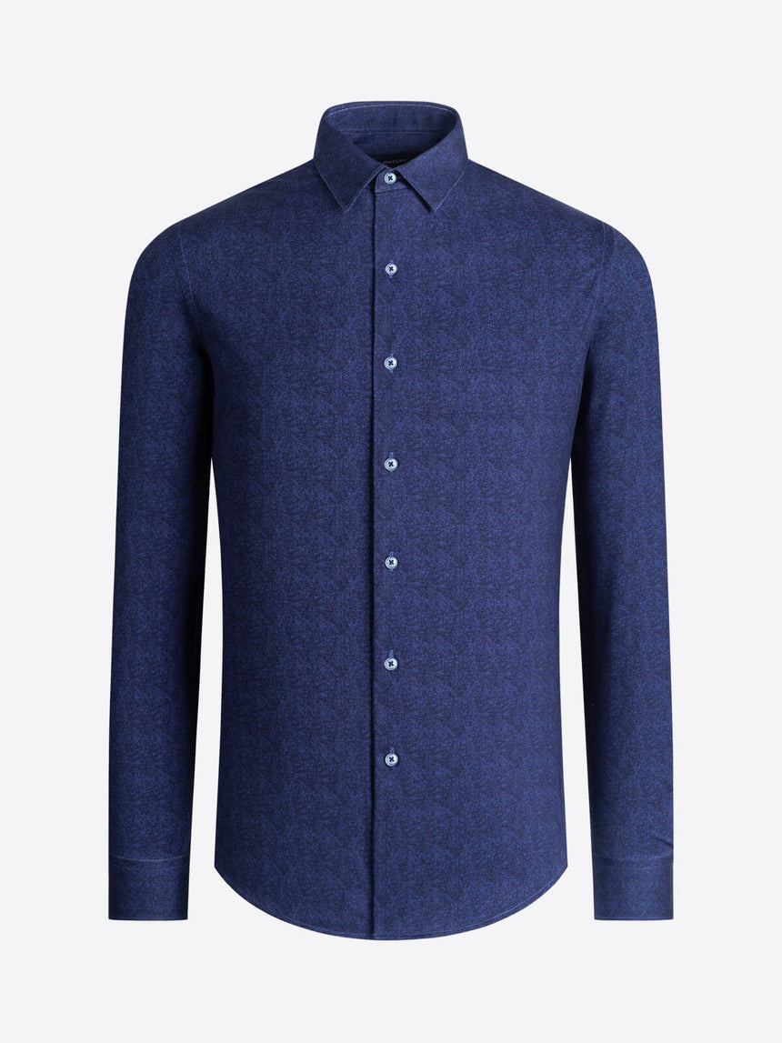 Bugatchi Long Sleeve Shirt - Blue