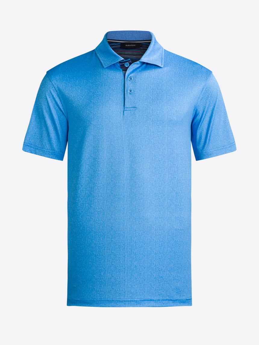 Bugatchi Golf Shirt - Blue