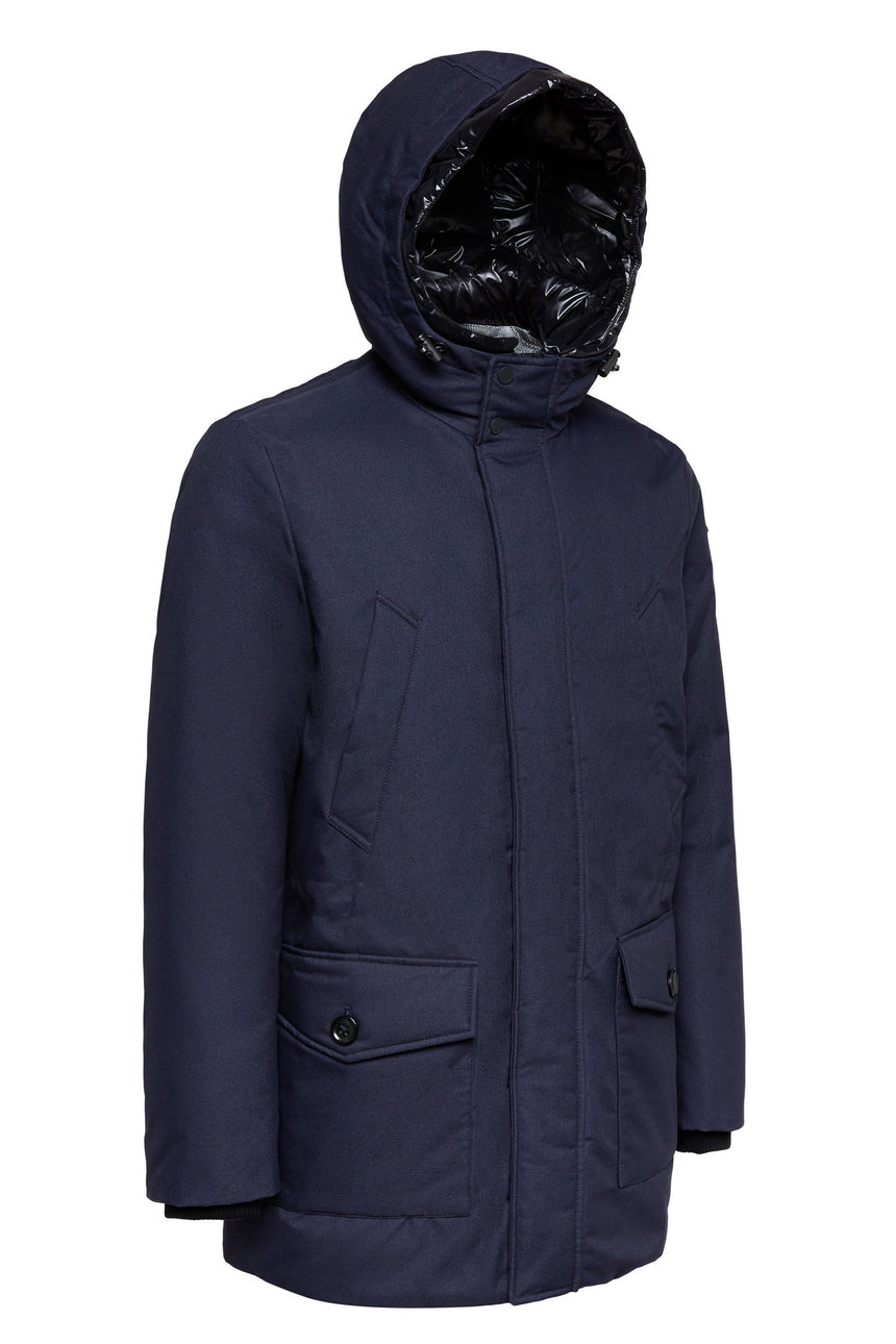 Geox Jaylon Winter Parka - Navy