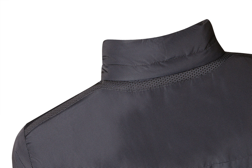 Geox Vincit Short Jacket  - Charcoal