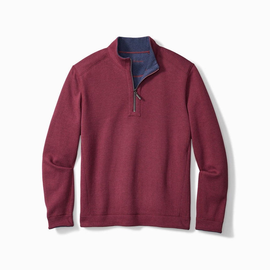 Tommy Bahama Flipshore - 1/4 Zip Revisible