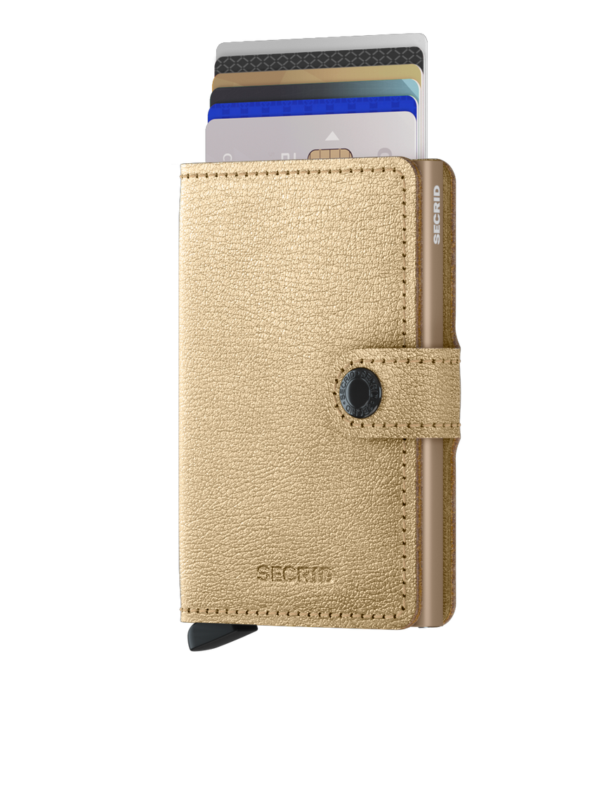 Secrid Mini Wallet Antique Gold