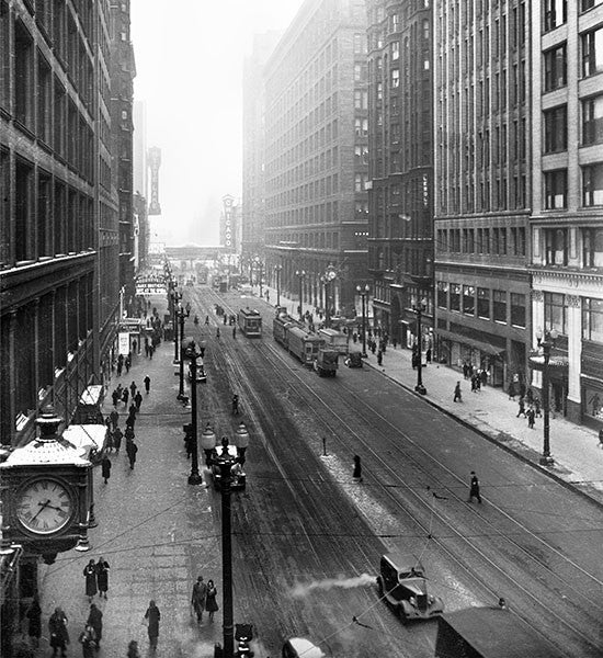 State Street Chicago - 1936