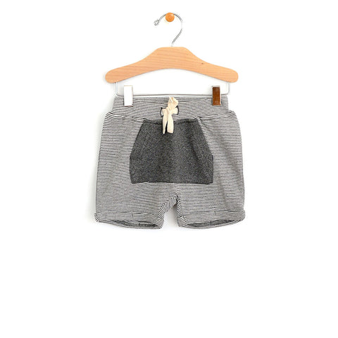 City Mouse - Harem Pocket Short - Dark Melange