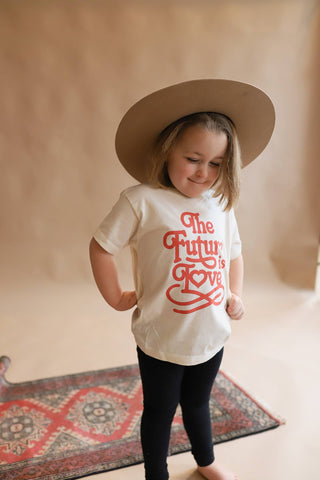 Polished Prints - The Future is Love Kid/Toddler Tee