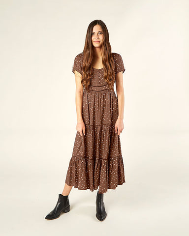 Rylee + Cru - Ada Dress - Wine