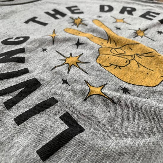 Rivet Apparel Co. - Graphic Tee - Living the Dream