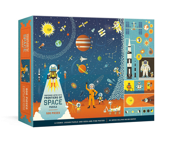 Professor Astro Cat's Frontiers of Space 500 Piece Jigsaw Puzzle