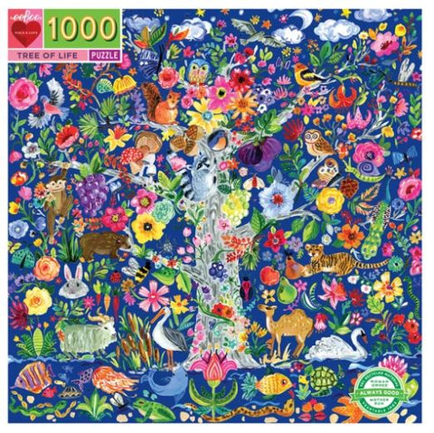 eeBoo - Tree of Life Puzzle - 1000 Piece