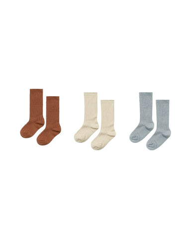 Rylee + Cru - Knee Socks Set of Three