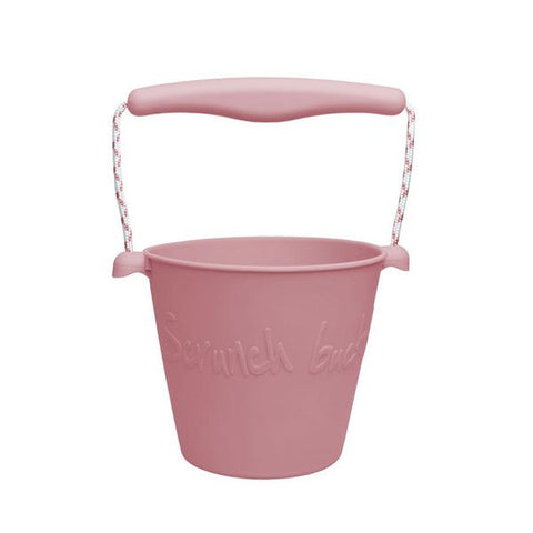 Scrunch Bucket - Bucket - Dusty Rose