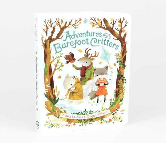 Adventures with Barefoot Critters - ABC book by Tegan white