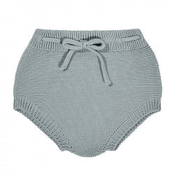 Cotton Knit Sweater Bloomers - LEAF