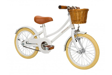 Banwood Bikes - Classic Bike - White - SOLD OUT - Next availability is late December