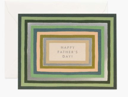 Rifle Paper Co. - Striped Father's Day Card