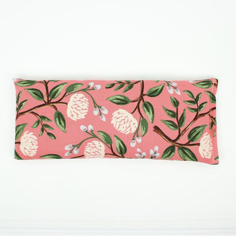 Sweet Dreams - Lavender Eye Pillow - Rifle Paper Co. Coral Peony
