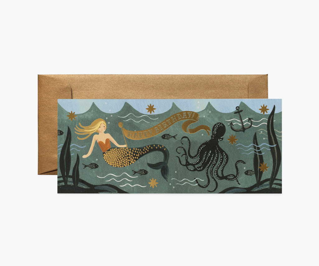 Rifle Paper Co. - Under the Sea No. 10 Card
