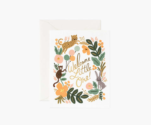 Rifle Paper Co. - Menagerie Baby Card