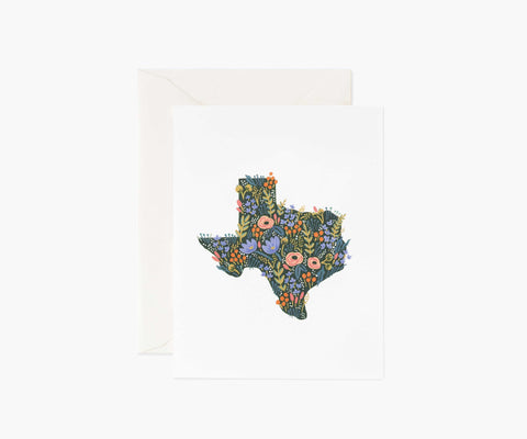 Rifle Paper Co. - Texas Wildflowers Card