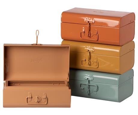 Maileg - Storage Suitcase, Small - 4 Assorted Colors - PREORDER