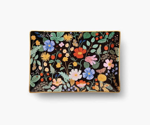 Rifle Paper Co - Strawberry Fields Catchall Tray