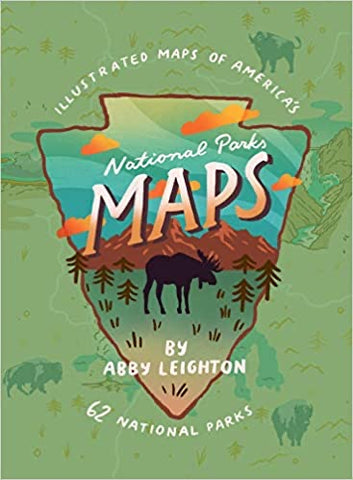 National Parks Maps - Abby Leighton