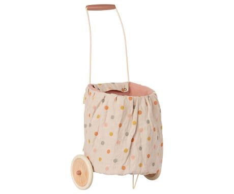 Maileg - Trolley - Multi Dots - Rose