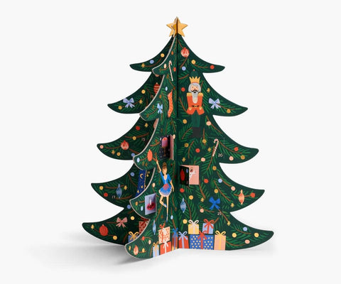 Rifle Paper Co - Christmas Tree Advent Calendar